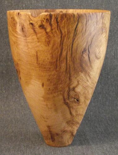 02 Weathered oak burr pot