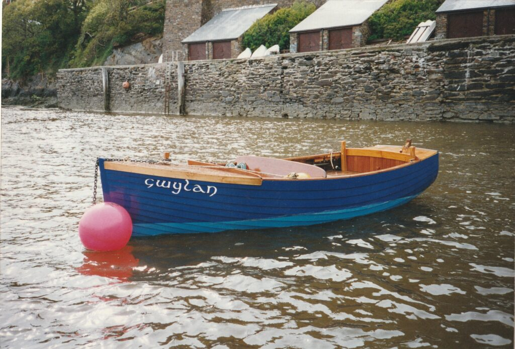 This image has an empty alt attribute; its file name is Gwylan-on-mooring-1-1024x695.jpg